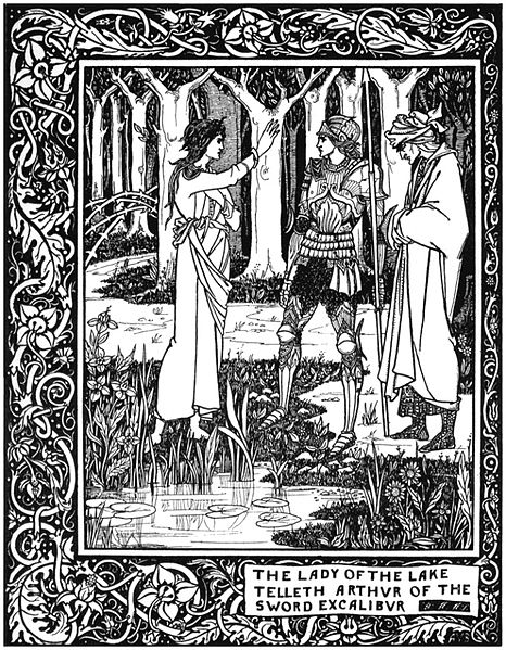 The_Lady_of_the_Lake_telleth_Arthur_of_the_sword_Excalibur
