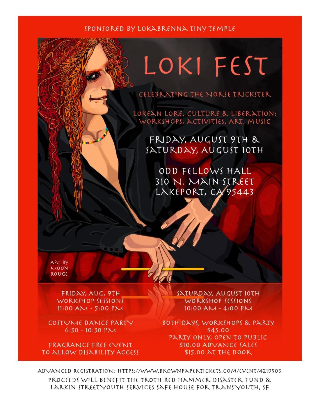 NEW & BEST LokiFest Flyer 4:22
