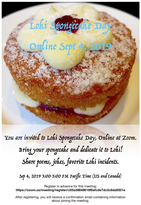 Loki Spongecake Day Online
