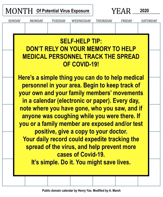 COVID Self-Help TIP